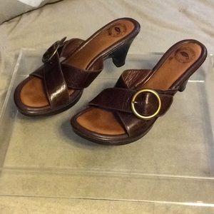 """Nurture 3"""" leather heels"""